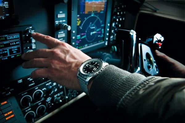 black dial Breitling Chronospace copy watches