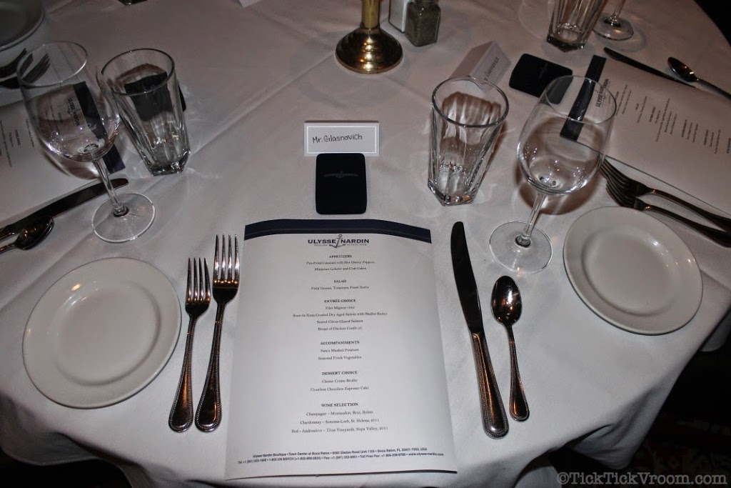 Ulysse Nardin Boca Raton Boutique Capital Grille Dinner 8618