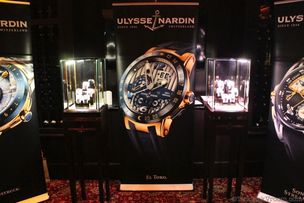 Ulysse Nardin Boca Raton Boutique Capital Grille Dinner 8638