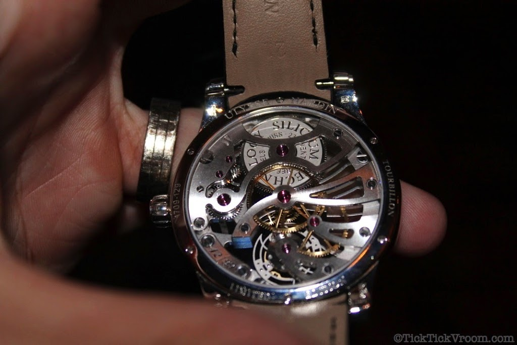 Ulysse Nardin Platinum 44 mm Skeleton Tourbillon 8623