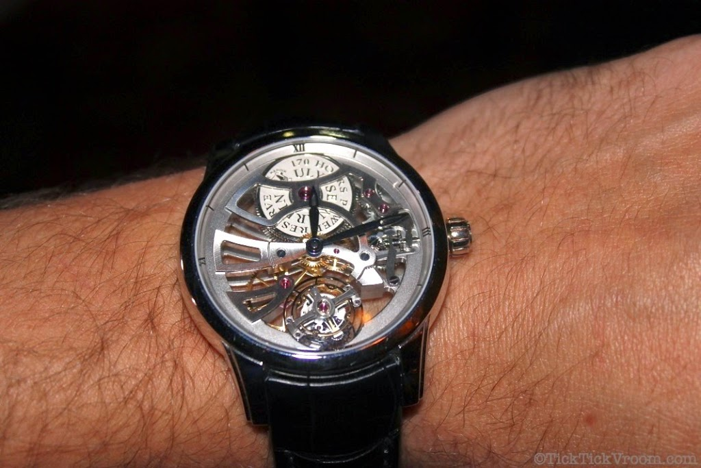 Ulysse Nardin Platinum 44 mm Skeleton Tourbillon 8624