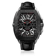 Titanium franck muller conquistador grand prix 9900 cc gp chronographe replica watch