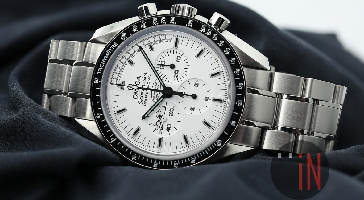 White dial omega speedmaster apollo 13 silver snoopy award limited edition watch replica