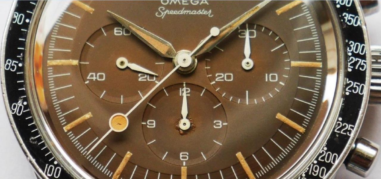 Omega Speed Master Dial