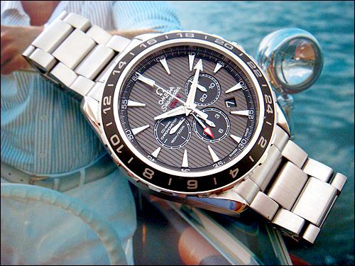 Omega Aqua Terra Chronograph GMT