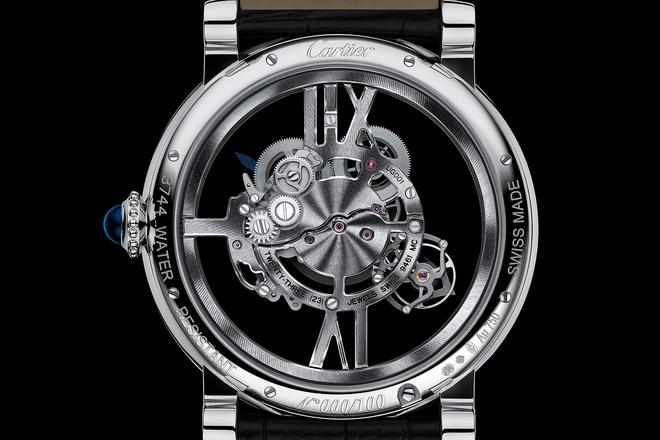 Rotonde de Cartier Astrotourbillon Skeleton