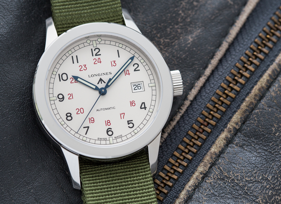 Longines Heritage Military COSD Watch