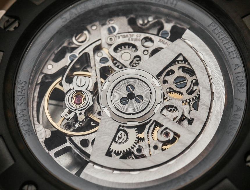 Perrelet Turbine Skeleton Watch Hands-On Hands-On