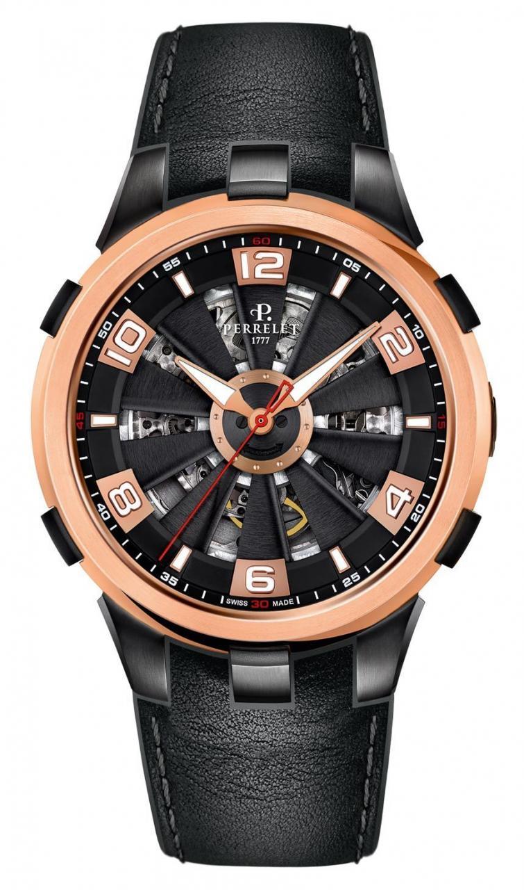 Perrelet Turbine Skeleton Watch Watch Releases