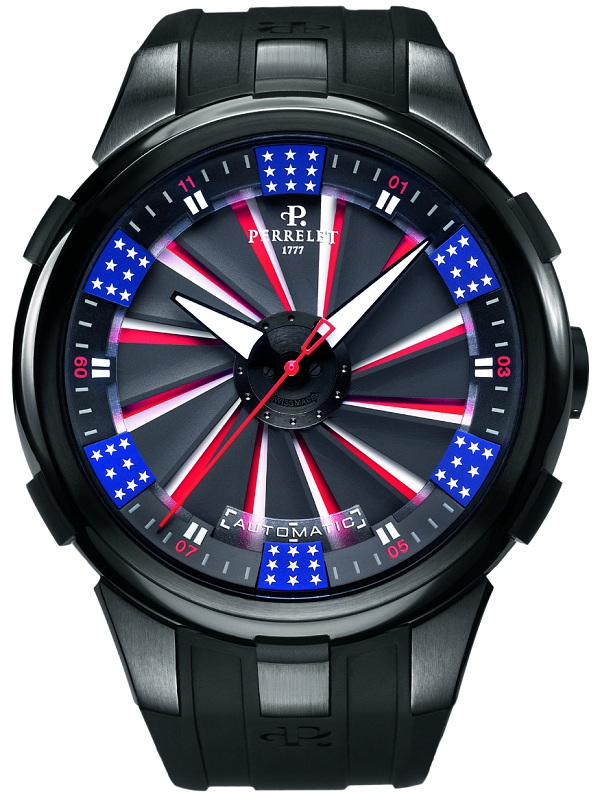 Perrelet Turbine XL America Limited Edition Watch Watch Releases