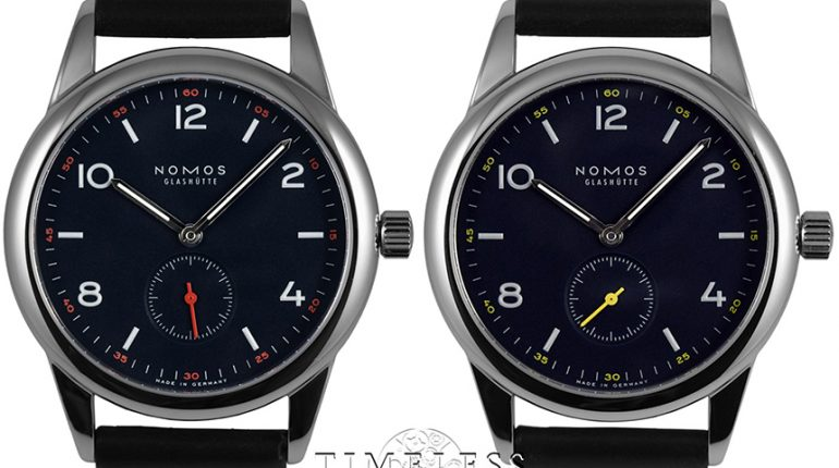 Nomos Timeless Club II Watch Watch Releases