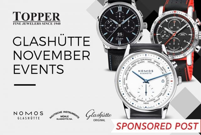 Glashütte November Events at Topper Fine Jewelers Shows & Events