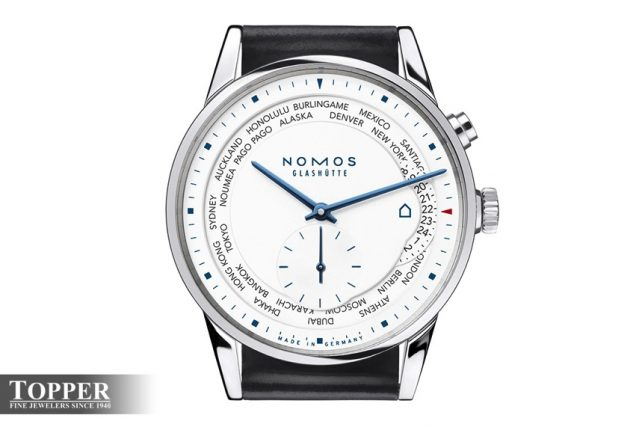Nomos Zurich Worldtimer Topper Edition Watch Watch Releases