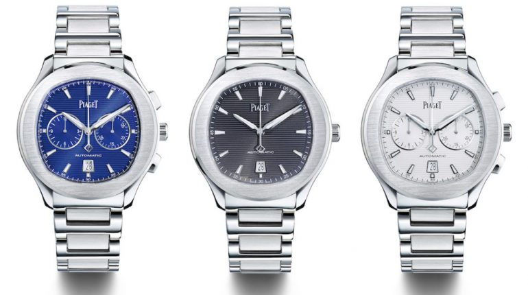Piaget Polo S & Polo S Chronograph Watches: More 'Accessible' & Worn By Ryan Reynolds Watch Releases