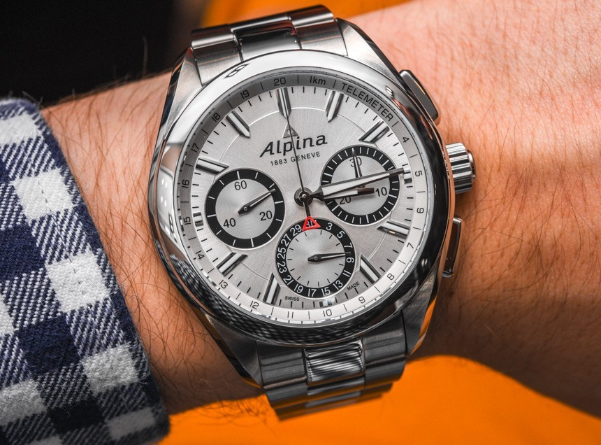 Alpina Alpiner 4 Flyback Chronograph With New AL-760 In-House Movement Hands-On Hands-On