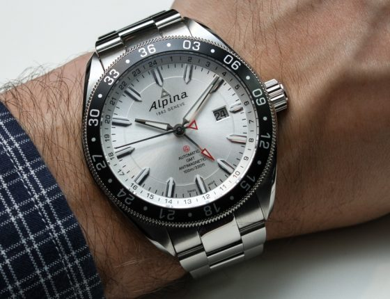 Alpina Alpiner GMT 4 Watch Hands-On Hands-On