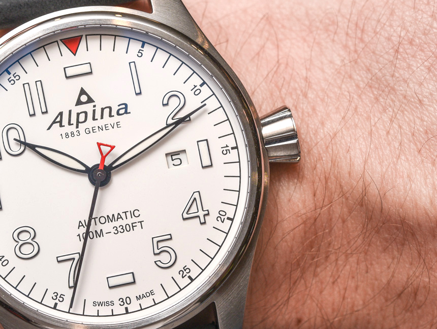 Alpina Startimer Pilot Automatic Watch For 2017 Hands-On Hands-On