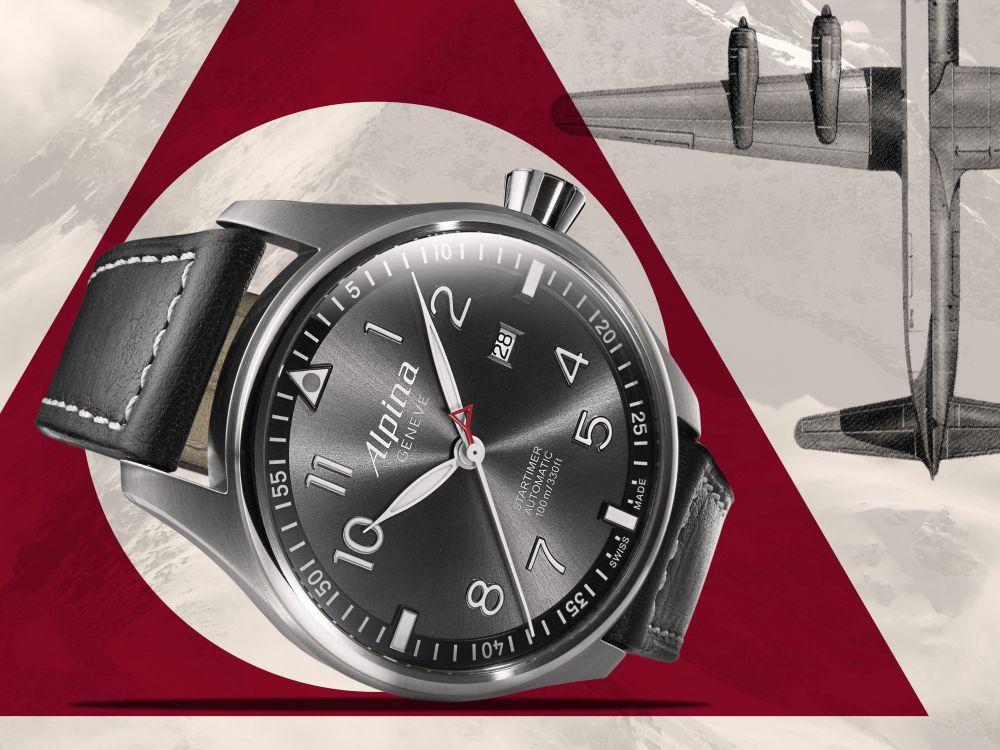 Alpina Startimer Sunstar Watch Watch Releases