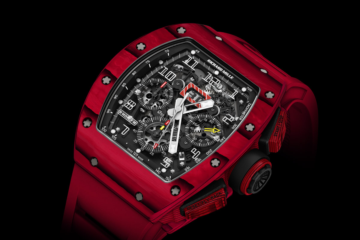 Richard Mille RM 011 Red TPT Quartz