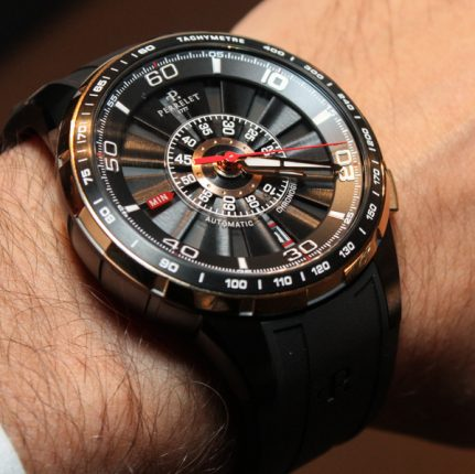 Hands-On With The Perrelet Turbine Chronograph Watch Hands-On